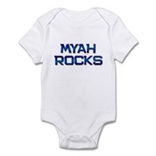 myah rocks Infant Bodysuit
