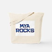 mya rocks Tote Bag