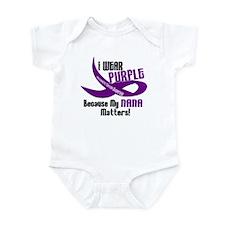 I Wear Purple (Nana) 33 PC Infant Bodysuit