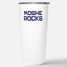 moshe rocks Stainless Steel Travel Mug