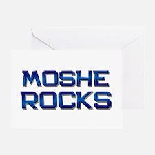moshe rocks Greeting Card