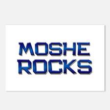moshe rocks Postcards (Package of 8)