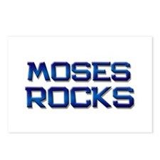 moses rocks Postcards (Package of 8)