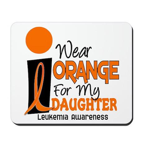 I Wear Orange For My Daughter 9 Leuk Mousepad