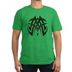 Tribal Woven Blades Men's Fitted T-Shirt (dark)