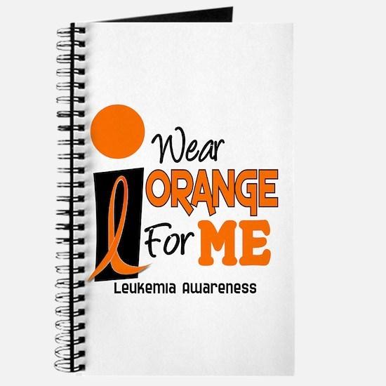 I Wear Orange For ME 9 Leukemia Journal
