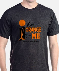 I Wear Orange For ME 9 Leukemia T-Shirt