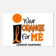 I Wear Orange For ME 9 Leukemia Postcards (Package