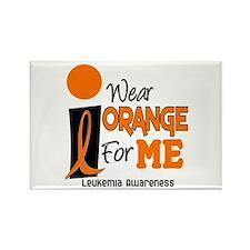 I Wear Orange For ME 9 Leukemia Rectangle Magnet (