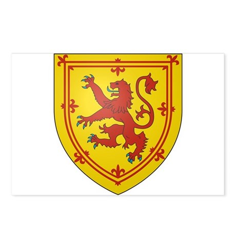 Kingdom of Scotland Postcards (Package of 8)