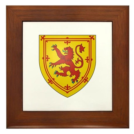 Kingdom of Scotland Framed Tile