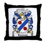 Lasson Coat of Arms Throw Pillow