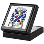 Lasson Coat of Arms Keepsake Box