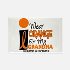 I Wear Orange For My Grandma 9 Leuk Rectangle Magn