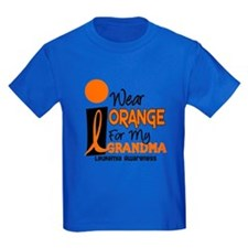 I Wear Orange For My Grandma 9 Leuk T