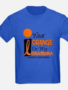 I Wear Orange For My Grandma 9 Leuk T