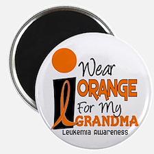 I Wear Orange For My Grandma 9 Leuk Magnet