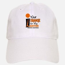I Wear Orange For My Sister 9 Leuk Baseball Baseball Cap