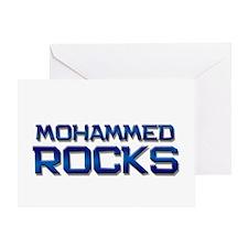 mohammed rocks Greeting Card