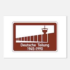 Berlin Wall 1945-1990, Germany Postcards (Package
