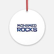 mohamed rocks Ornament (Round)
