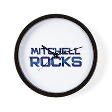 mitchell rocks Wall Clock