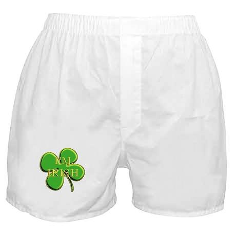 I'm Irish Boxer Shorts