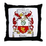 Linde Coat of Arms Throw Pillow