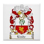 Linde Coat of Arms Tile Coaster