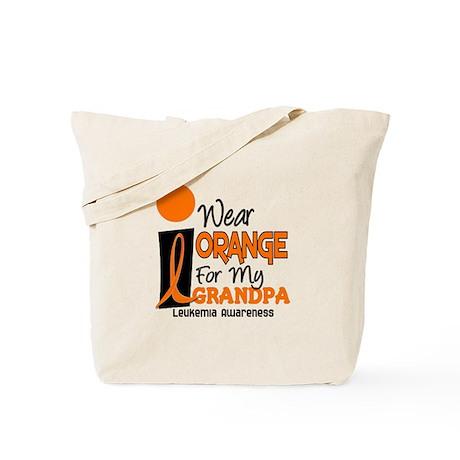 I Wear Orange For My Grandpa 9 LEUK Tote Bag