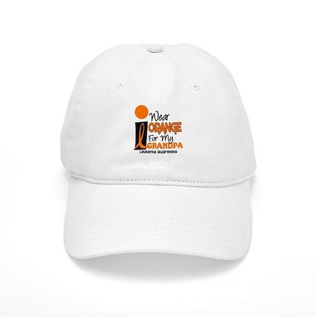 I Wear Orange For My Grandpa 9 LEUK Cap