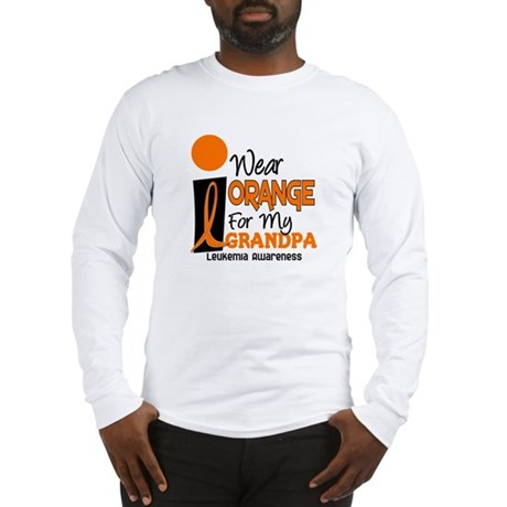 I Wear Orange For My Grandpa 9 LEUK Long Sleeve T-