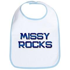 missy rocks Bib