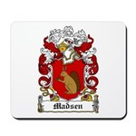 Madsen Coat of Arms Mousepad