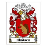 Madsen Coat of Arms Small Poster
