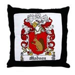 Madsen Coat of Arms Throw Pillow