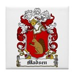 Madsen Coat of Arms Tile Coaster