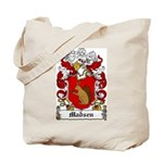 Madsen Coat of Arms Tote Bag