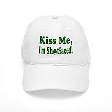 Kiss Me, I'm Shitfaced! Baseball Cap