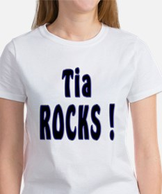 Tia Rocks ! Women's T-Shirt