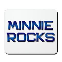 minnie rocks Mousepad