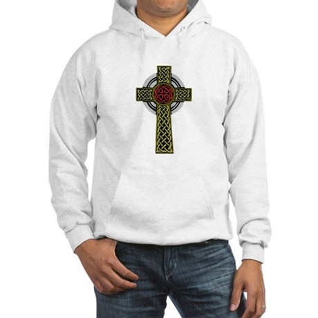 Celtic Knot Cross Hooded Sweatshirt