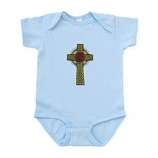 Celtic Knot Cross Infant Bodysuit