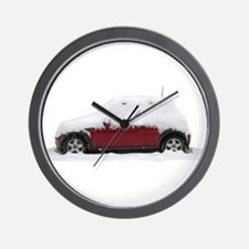 Snow Cooper Wall Clock