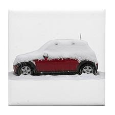 Snow Cooper Tile Coaster