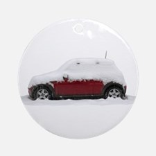 Snow Cooper Ornament (Round)