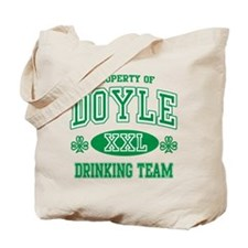Doyle Irish Drinking Team Tote Bag