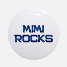 mimi rocks Ornament (Round)