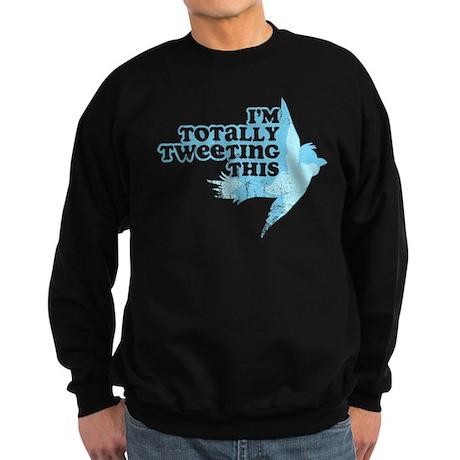 Tweeting This Twitter Sweatshirt (dark)