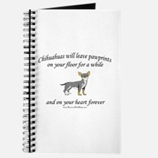Chihuahua Pawprints Journal